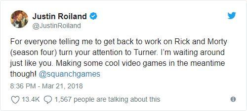 Rick and Morty's Dan Harmon, Justin Roiland: Squanchy Negotiations Delaying Season 4