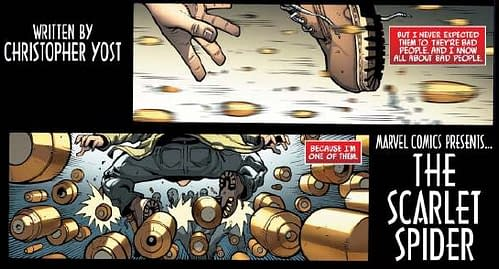 Scarlet Spider #1 By Christopher Yost And Ryan Stegman – A Taster's Menu