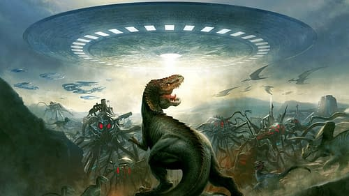 Dynamite To Publish Grant Morrison's Dinosaurs And Aliens