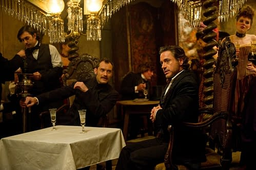 A still from Sherlock Holmes: A Game of Shadows. Credit: Warner Bros.