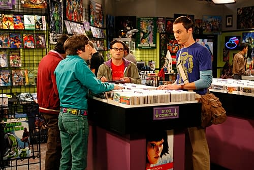 DC Relaunch: The Big Bang Theory In Comic Stores