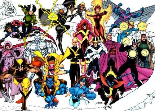 X-Men By George Perez