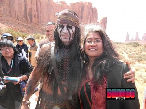 Johnny Depp and Armie Hammer in New Lone Ranger Set Pictures