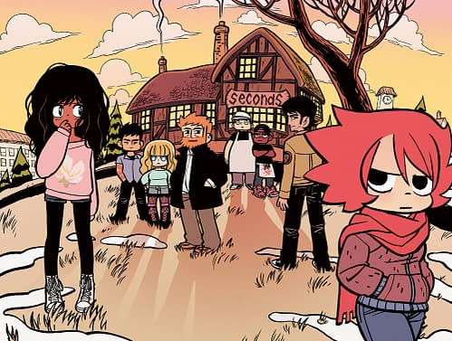 Get Your Free Seconds Print, Signed By Bryan O'Malley, At San Diego Comic Con. Or Pay The Price!