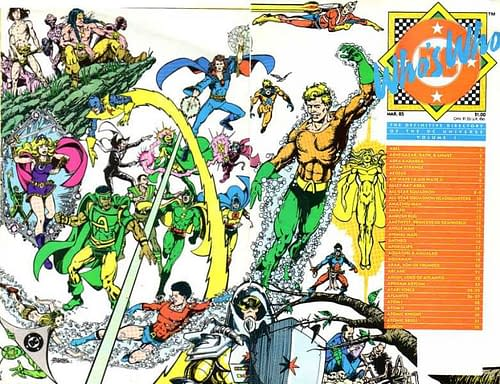 Who's Who: The Definitive Directory of the DC Universe #1