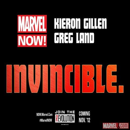 Kieron Gillen And Greg Land Launch Invincible Iron Man For Marvel Now! (RWIYOTAAPJ)