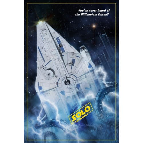 ThinkGeek SDCC Exclusive Solo Poster Print