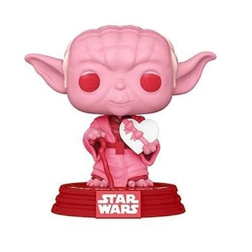 Star Wars Celebrates Valentines Days With New Pops From Funko