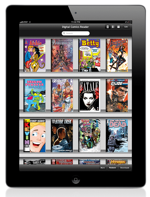 Diamond Launches New Digital Comics Reader For Apple And Android