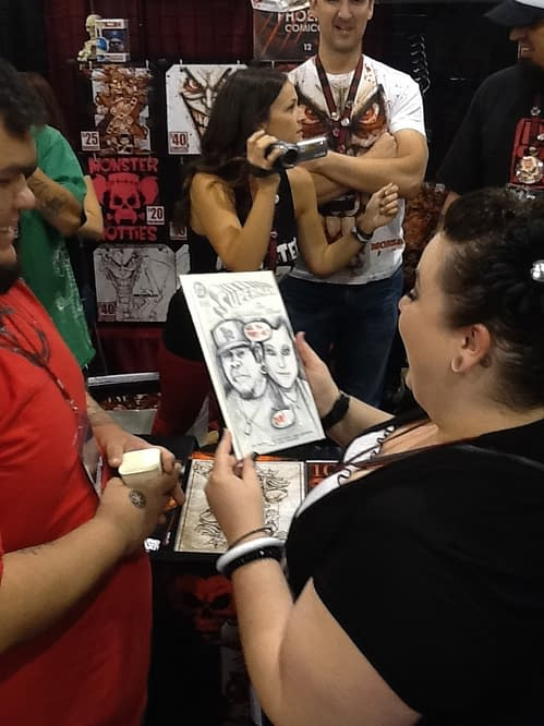 The Marriage Proposal Of Phoenix Comicon