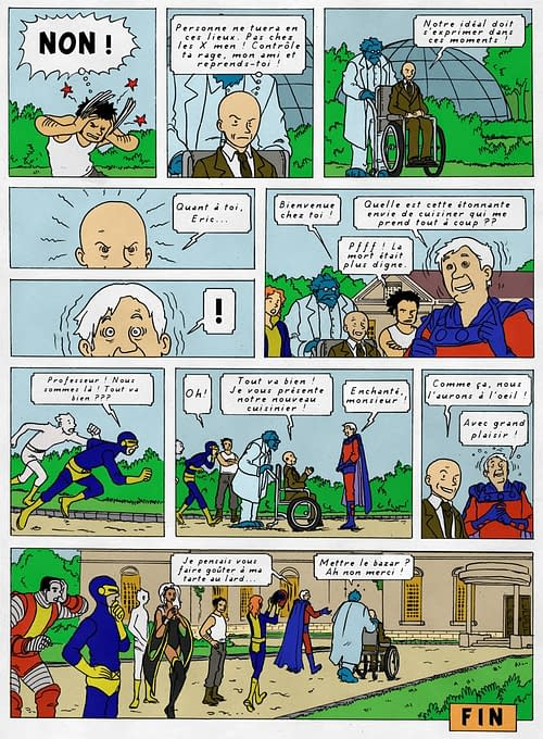 What If… Herge Created The X-Men?