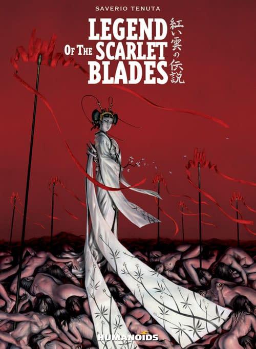 Saverio Tenuta's Legend Of The Scarlet Blades For February