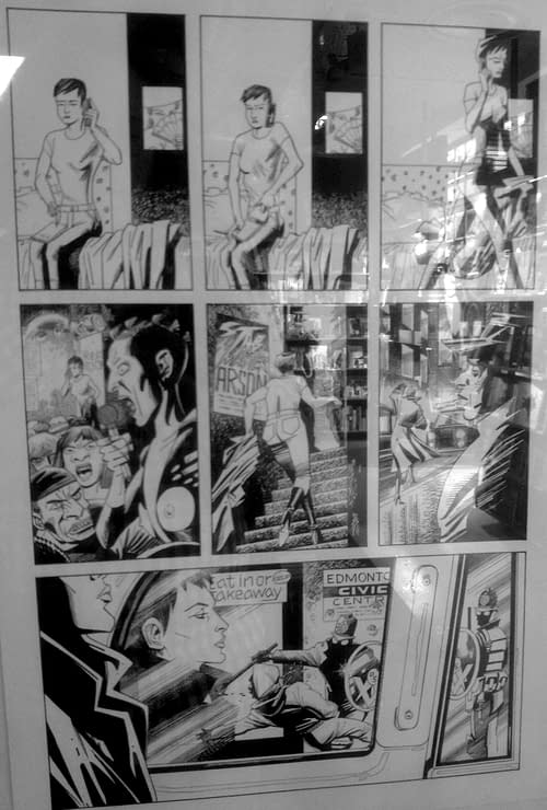 More Pages From League Of Extraordinary Gentleman Century 2009, Courtesy Of Gosh Comics