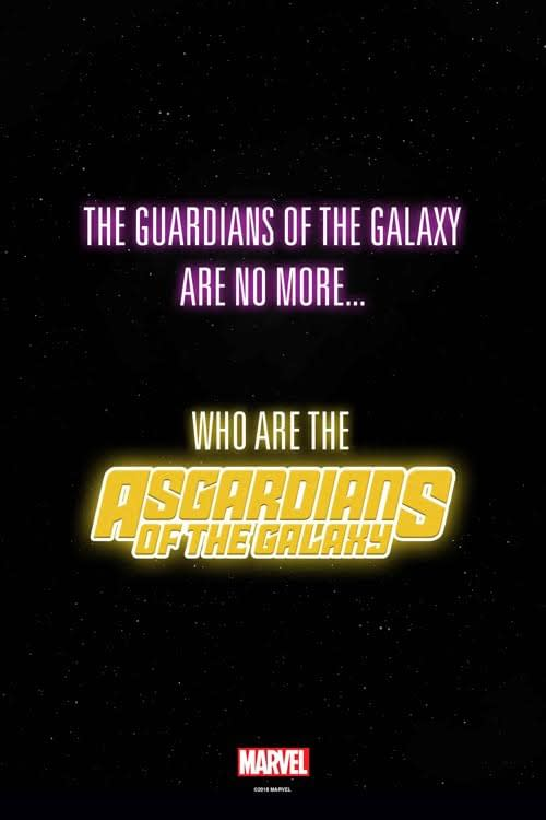 Marvel Teaser Asks: Who Are the Asgardians of the Galaxy?