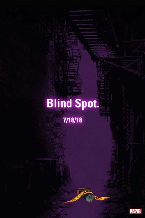 """Marvel Teases Mysterious """"Blind Spot"""" for Tomorrow, July 18th"""