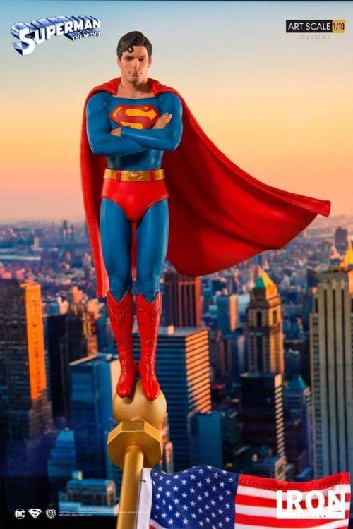 Iron Studios Superman Statue 4