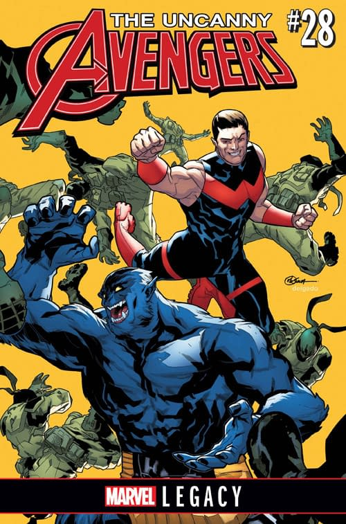 Beast And Wonder Man Bromance Headlines Marvel Legacy Uncanny Avengers By Jim Zub And Sean Izaakse