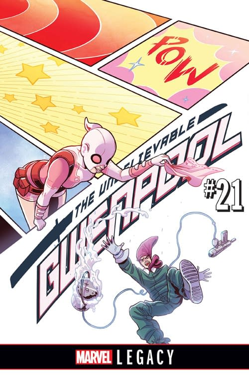 Gwenpool Takes On Doctor Doom For Marvel Legacy In Gwenpool, The Unbelievable #21 From Hastings And Strychalski