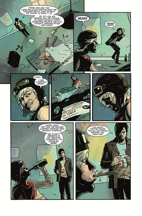 Preview: Death Sentence by Montynero and Mike Dowling