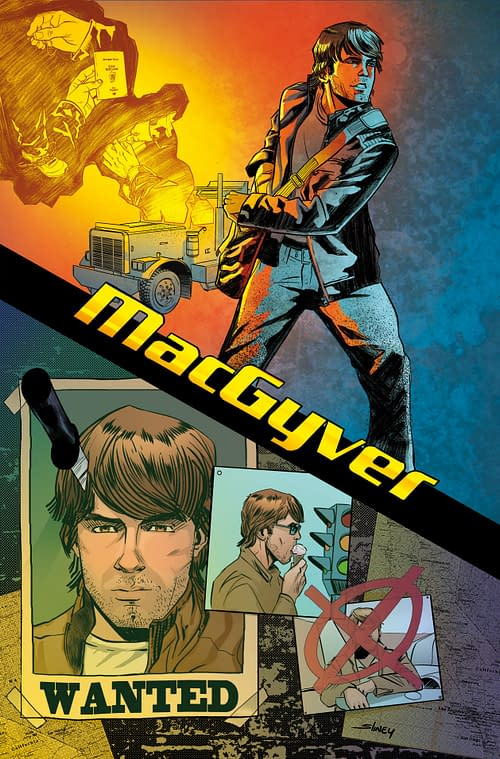 Will Sliney Is The New Artist On MacGyver