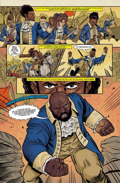 The Hamilton Graphic Novel That Never Was