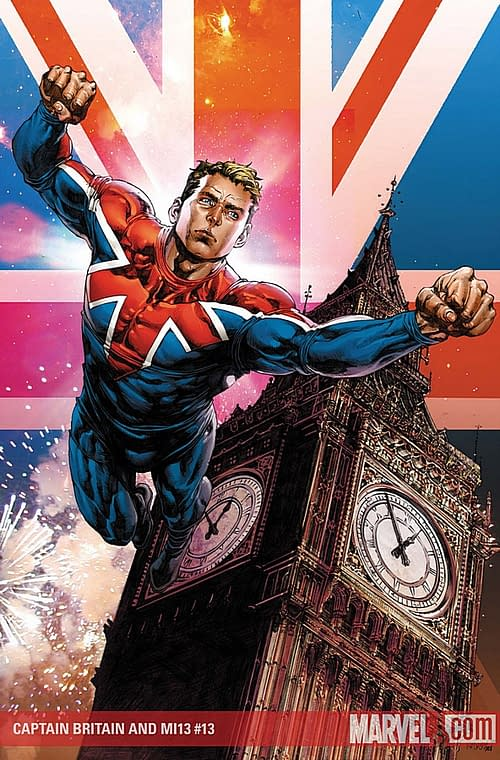 Marvel Book Space at Pinewood Studios for Guy Ritchie Captain Britain Movie?