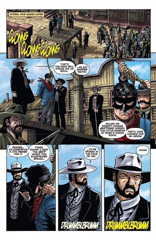 Lone Ranger #4 And #5 Commentary By Ande Parks