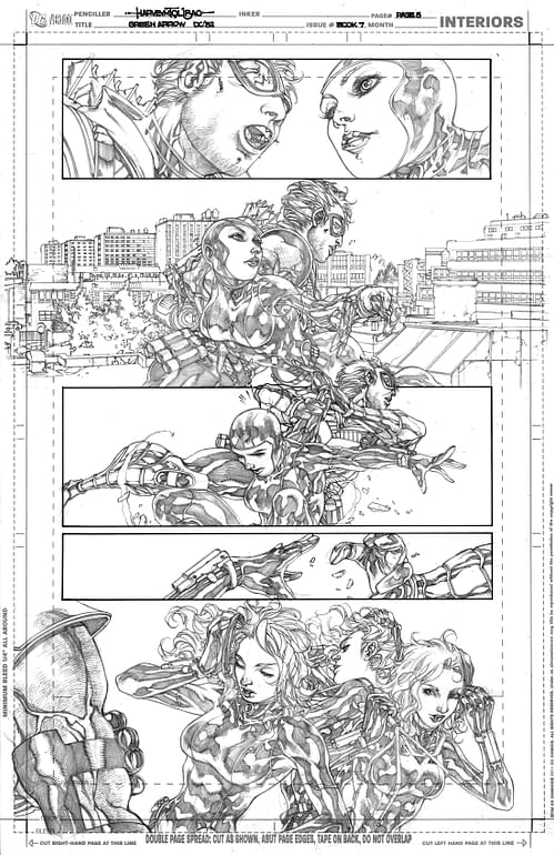 Gene Ha, The First Fill In Artist On Justice League