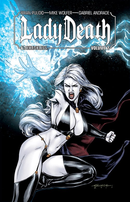 Come for the Sexy Lady, Stay for the Myth-Making: Mike Wolfer on Lady Death