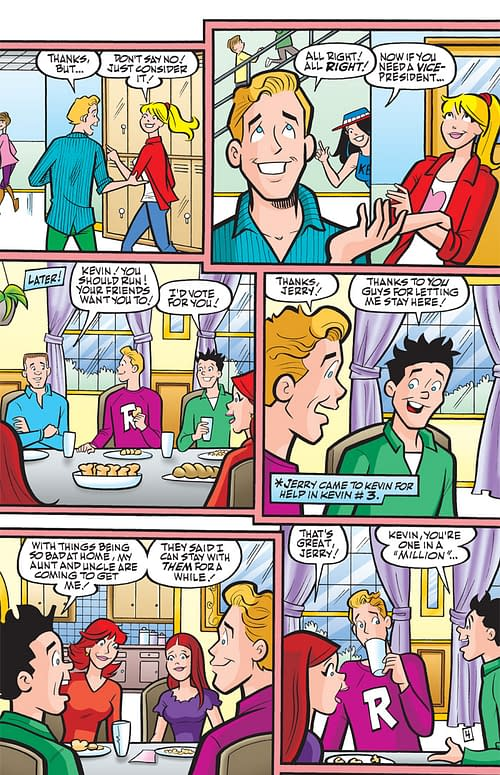Now Archie Comics Gives You A Gay President With Kevin Keller #4