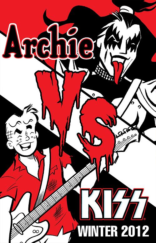 Now It's Archie VERSUS Kiss