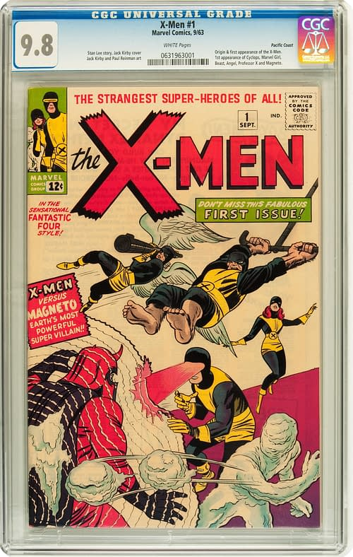 Highest Graded Copy Of X-Men #1 Goes For Record $492,937.50