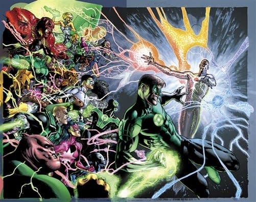 Geoff Johns To Leave Green Lantern