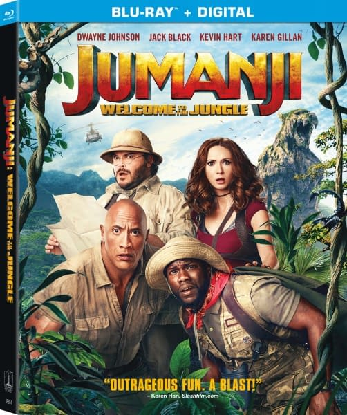 Jumanji: Welcome to the Jungle's Gag Reel is Almost Better Than the Movie