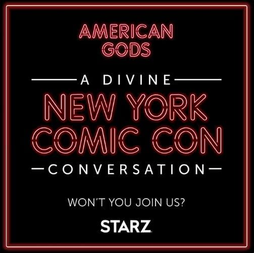 American Gods will be at New York Comic Con Metaverse (Image: STARZ)