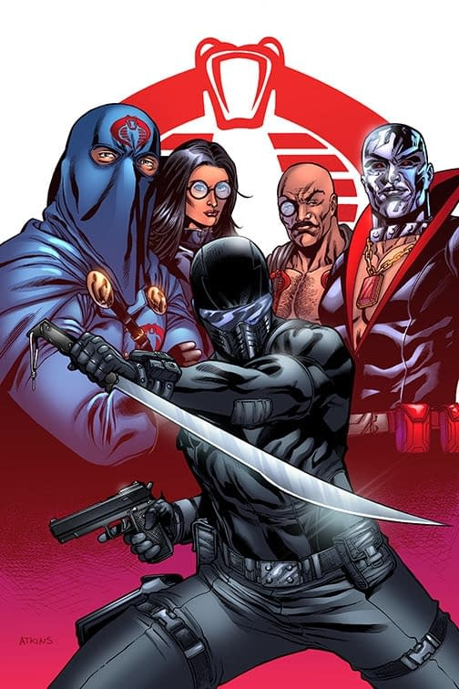 The cover G.I. Joe Issue #275 from IDW
