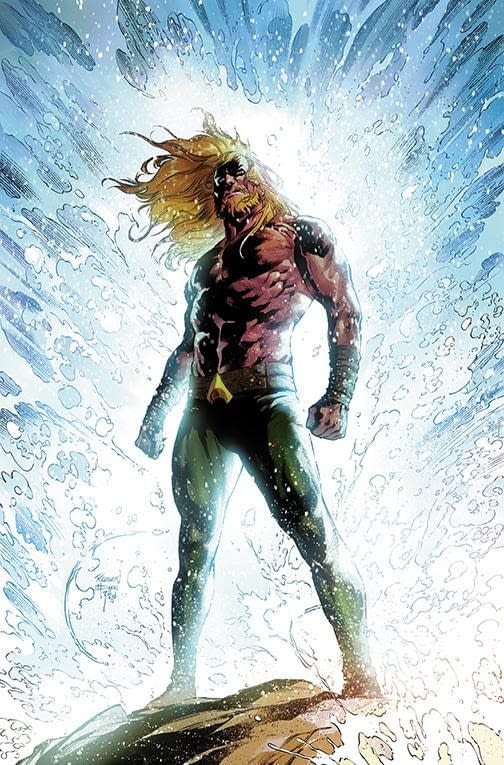 DC Comics Make Aquaman #43 Semi-Returnable for Kelly Sue DeConnick and Robson Rocha's Launch