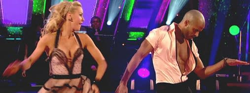 hollyoaks ricky whittle strictly dancing