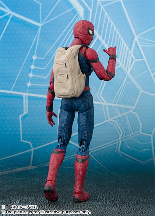 S.H. Figuarts Spider-Man: Homecoming Spidey Looks Pretty Amazing