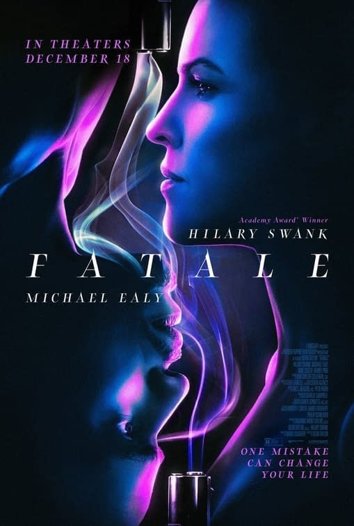 Trailer For Lionsgate Thriller Fatale Debuts, In Theaters December 18th