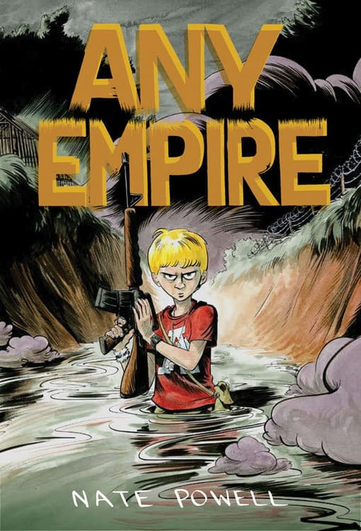 San Diego Debut: Any Empire by Nate Powell