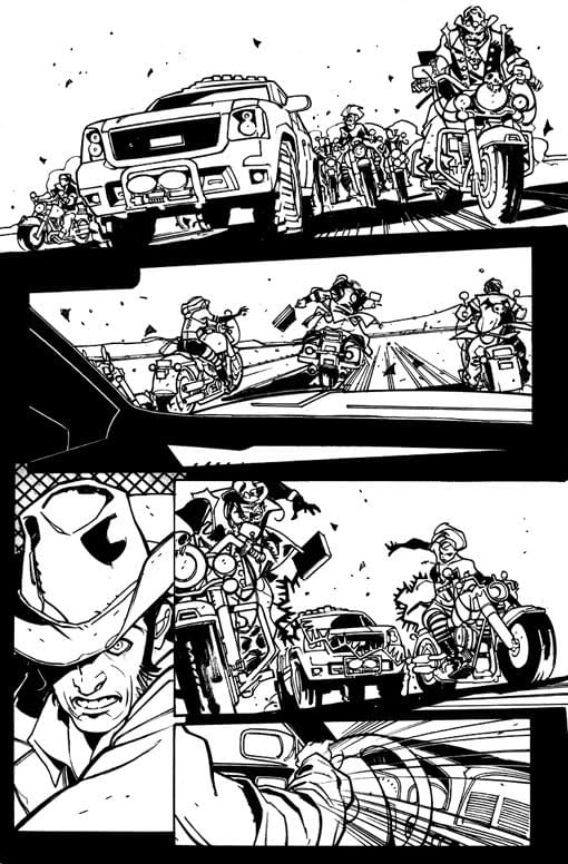 Six Guns By Andy Diggle And Davide Gianfelice – A Modern Day Western For Marvel In October