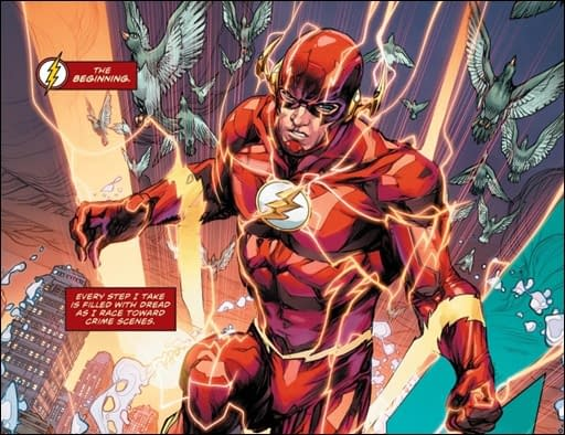 Flash #36 art by Howard Porter and Hi-Fi