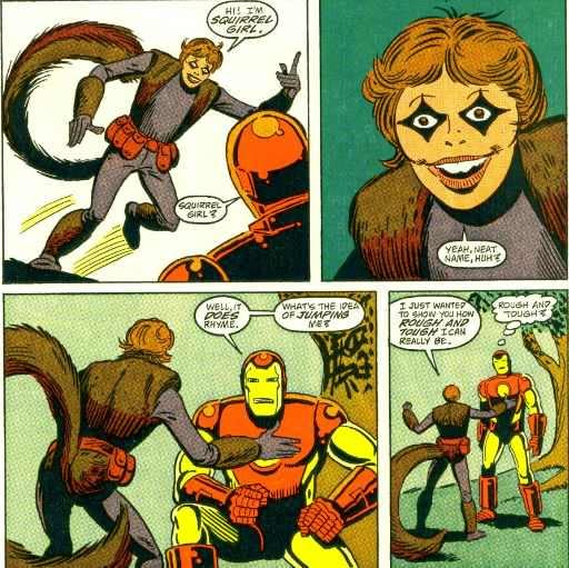 Why Does Marvel Allow Such Awful Squirrel Girl Art To Be Published?