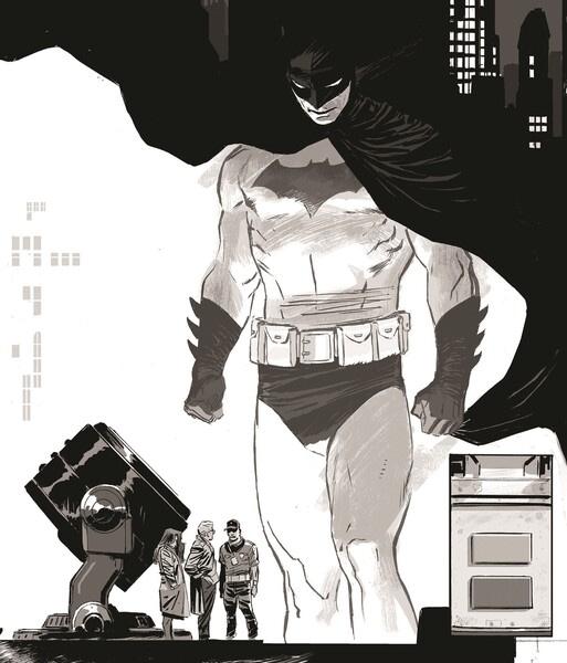 Ahead of DC Fandome, Batman Black & White Returns in December