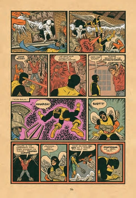 The X-Men's Origins Retold In 8 Page Preview Of Ed Piskor's X-Men: Grand Design