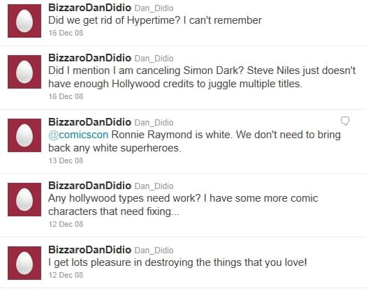 @DC_NATION Tweets Link To Spoof Dan DiDio Account By Mistake