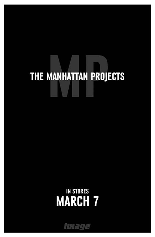 Not-Quite-A-Preview: The Manhattan Projects #1 By Hickman And Pitarra