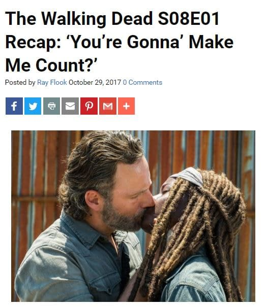 Bring Out Your Dead! 802: Bleeding Cool's The Walking Dead LIVE-BLOG!