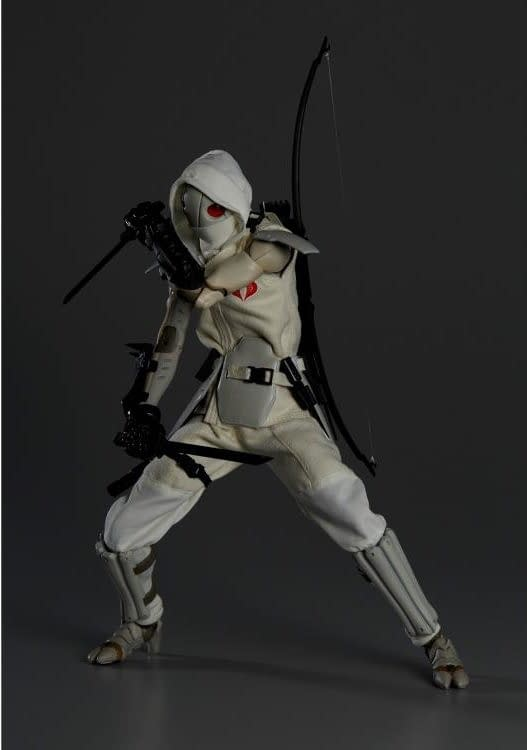 G.I. Joe x TOA Heavy Industries 1/6 Scale PX Previews Exclusive Figures White Shadow 1000Toys